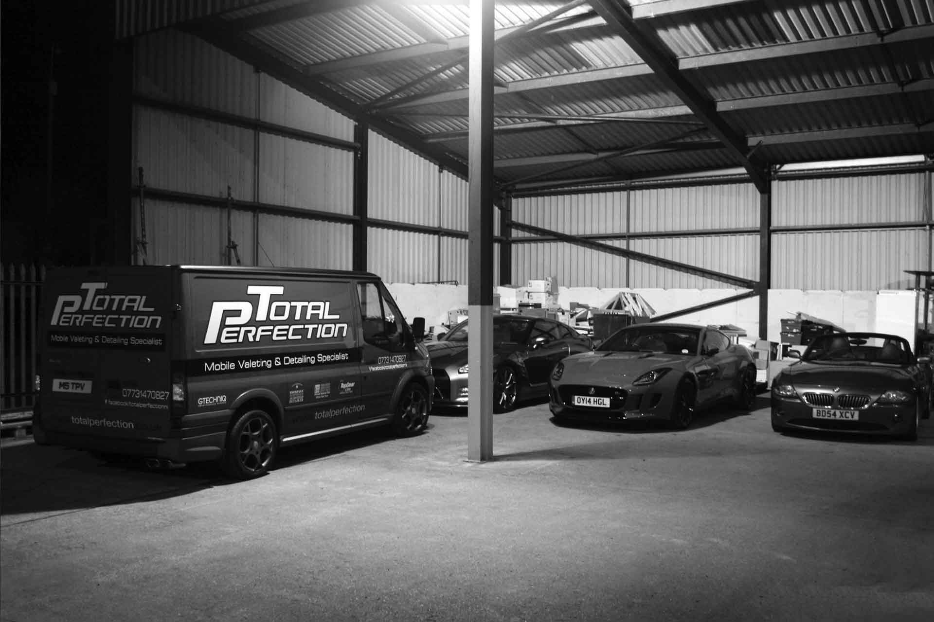 We can store, collect & deliver your vehicle Total Perfection
